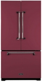 AMLFDR23CRN Aga Legacy 36� French Door Counter Depth Refrigerator with Customized Temperature Controls - Cranberry