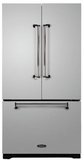 AMLFDR23SS Aga Legacy 36� French Door Counter Depth Refrigerator with Customized Temperature Controls - Stainless Steel