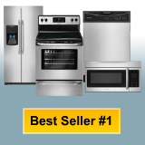 Frigidaire Appliance Stainless Steel Kitchen Package 13