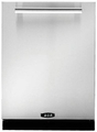 "APRODWBNSS1 AGA 24"" PRO+ Fully Integrated Tall Tub Dishwasher with Brushed Nickel Handles - Stainless Steel"