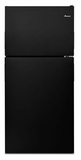 ART308FFDB Amana 18 cu. ft. Top-Freezer Refrigerator with Electronic Temperature Controls - Black