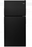 "ART318FFDB Amana 30"" Top-Freezer Refigerator with Glass Shelves and 18 cu.ft. Capacity - Black"