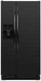 ASD2275BRB Amana 22 Cu. Ft. Side by Side Refrigerator with Energy Efficiency & Money Savings - Black