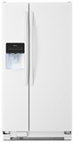 ASD2275BRW Amana 22 Cu. Ft. Side by Side Refrigerator with Energy Efficiency & Money Savings - White