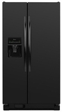 ASD2575BRB Amana 25.5 cu. ft. Side-by-Side Refrigerator with Water Dispenser - Black