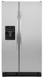 ASD2575BRS Amana 25.5 cu. ft. Side-by-Side Refrigerator with Water Dispenser - Stainless Steel