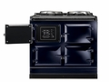 ATC3DBL AGA Total Control 3 Electric Range Cooker with Cast Iron Radiant Heat Oven - Dark Blue