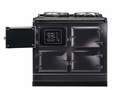 ATC3PWT AGA Total Control 3 Electric Range Cooker with Cast Iron Radiant Heat Oven - Pewter