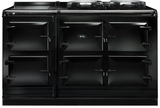 ATC5BLK AGA Total Control 5 Electric Range Cooker with Cast Iron Radiant Heat - Black