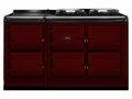 ATC5CLT AGA Total Control 5 Electric Range Cooker with Cast Iron Radiant Heat - Claret