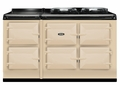 ATC5CRM AGA Total Control 5 Electric Range Cooker with Cast Iron Radiant Heat - Cream