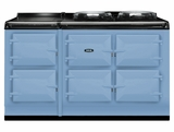 ATC5DEB AGA Total Control 5 Electric Range Cooker with Cast Iron Radiant Heat - Duck Egg Blue