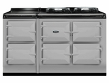 ATC5PAS AGA Total Control 5 Electric Range Cooker with Cast Iron Radiant Heat - Pearl Ashes