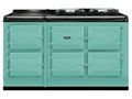 ATC5PIS AGA Total Control 5 Electric Range Cooker with Cast Iron Radiant Heat - Pistachio