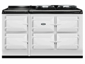 ATC5WHT AGA Total Control 5 Electric Range Cooker with Cast Iron Radiant Heat - White