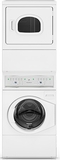 ATEE9AGP173TW01 Speed Queen 3.42 Cu. Ft. Stacked Electric Washer/Dryer Combo - White