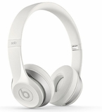 B0518WH Beats by Dr. Dre Solo 2 On-Ear Headphones with RemoteTalk Cable - White