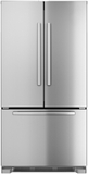 "B22CT80SNS Bosch 36"" Counter Depth French Door Bottom-Freezer 800 Series - Stainless Steel"