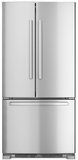 "B22FT80SNS Bosch 33"" Standard-Depth French Door Bottom-Freezer 800 Series - Stainless Steel"