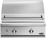 "BGC30BQN DCS Traditional 30"" All Grill for Built-in or On-Cart Applications - Natural Gas - Stainless Steel"