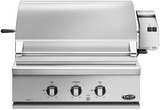 "BGC30BQRN DCS Traditional 30"" All Grill for Built-in or On-Cart Applications with Rotisserie - Natural Gas - Stainless Steel"