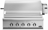 "BGC36BQARL DCS Traditional 36"" All Grill for Built-in or On-Cart Applications - LP Gas - Stainless Steel"