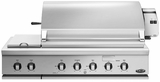 "BGC48BQRN DCS Traditional 48"" Grill with Integrated Sideburner for Built-in or On-Cart Applications - Natural Gas - Stainless Steel"