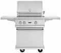 "BQC5301SS Viking 30"" Ultra-Premium Gas Grill Cart - Stainless Steel"
