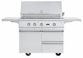 "BQC5421SS Viking 42"" Ultra-Premium Gas Grill Cart - Stainless Steel"