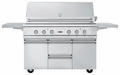 "BQC5541SS Viking 54"" Ultra-Premium Gas Grill Cart - Stainless Steel"