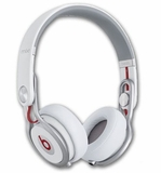 BTONMIXRWHT Beats by Dr. Dre Mixr On-Ear Headphones with Incredible Durability - White