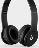 BTONSOLDICBLK Beats by Dr. Dre Solo HD Drenched Color Headphones - Matte Black Finish