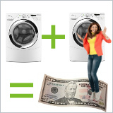 Buy A Washer And Dryer<br>Save $50 Instantly