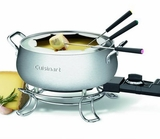 CFO-3SS Cuisinart Electric Fondue Set - Brushed Stainless Steel Pot