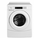 "CHW9060AW 27"" Whirlpool High-Efficiency Front-Load Commercial Washer with Low Water Usage and High-Speed Spin - White"