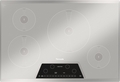CIT304KM Thermador 30 Inch Masterpiece Series Induction Cooktop with 4 Zones - Silver Mirrored Finish