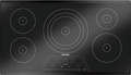 CIT365KBB Thermador 36 Inch Masterpiece Series Induction Cooktop with 5 Zones - Frameless Black