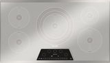 CIT365KM Thermador 36 Inch Masterpiece Series Induction Cooktop with 5 Zones - Silvored Mirrored Finish