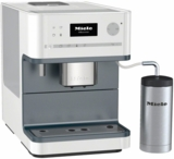 "CM6310W Miele 10"" Countertop Whole Bean/Ground Coffee System with Programmable Portion Sizes - White"