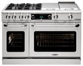 "CSB488SSN Capital 48"" Connoisseurian Dual Fuel Self-Clean Range with 8 Sealed Burners - Natural Gas - Stainless Steel"