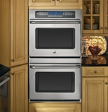 "CT959STSS GE Cafe 30"" Built-In Double Convection Wall Oven - Stainless Steel"