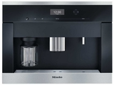 CVA6405 Miele PureLine Plumbed Whole Bean Built-In Coffee System with DirectSensor Controls - Stainless Steel