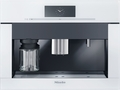 """CVA6805-WH Miele 60 cm (24"""") Plumbed Built-in Coffee System - Brilliant White"""