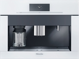 "CVA6805BR Miele 60 cm (24"") Plumbed Built-in Coffee System - Brilliant White"