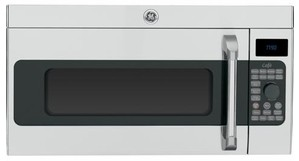 Cvm1790ssss Ge Cafe 1 7 Cu Ft Over The Range Convection Microwave Oven Stainless Steel