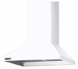 "D336WH Elitair 36"" Wall Mounted Range Hood with 560 CFM Blower - White"