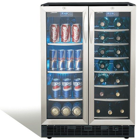 Dbc2760bls Danby 24 Quot Silhouette Beverage Center With 2