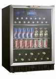 "DBC514BLS Danby 24"" Silhouette 5.3 Cu. Ft. Beverage Center - Stainless Steel"