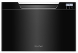 DD24SCB7 Fisher & Paykel Single DishDrawer with Recessed Handle - Black