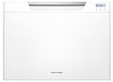 DD24SCTW7 Fisher & Paykel Single Tall DishDrawer with Recessed Handle - White